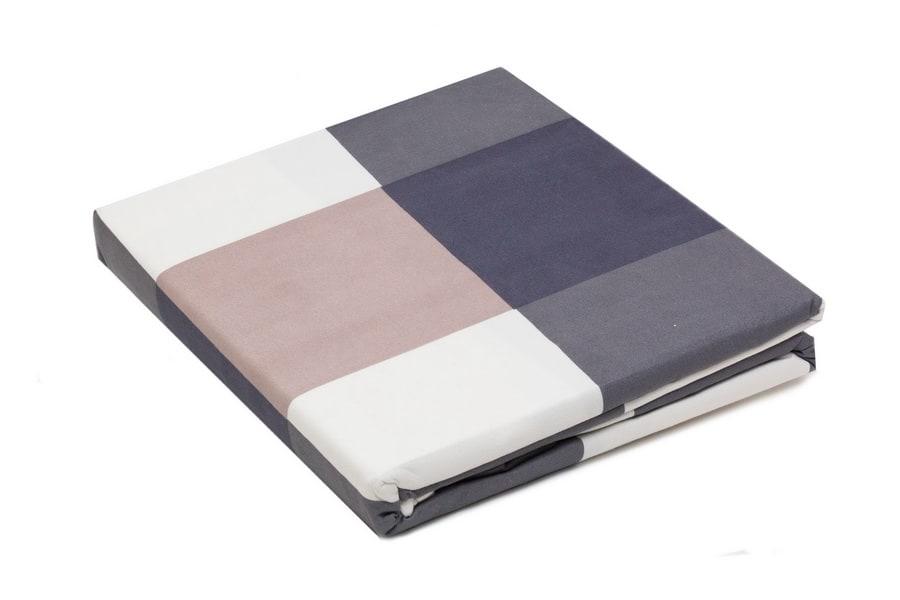 Bed sheet King Size Plaid Block Pattern - Balooworld