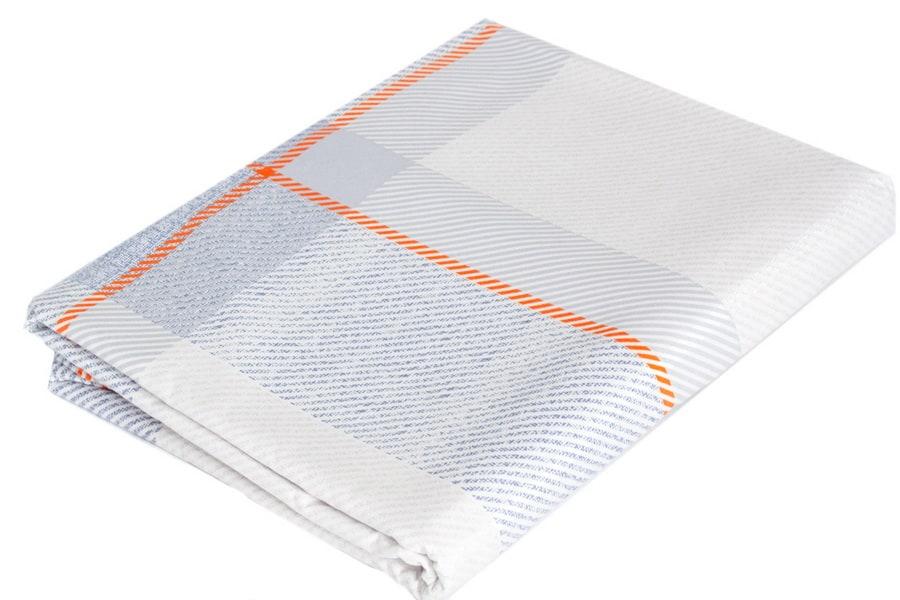 Bed Sheet Queen Size Stripes & Plaid Pattern - Balooworld