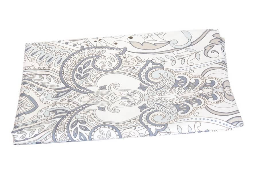 Bed Sheet Queen Size  Allover Paisley Print - Balooworld