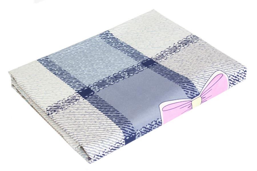Bed Sheet Queen Size Plaid & Bow Print - Balooworld
