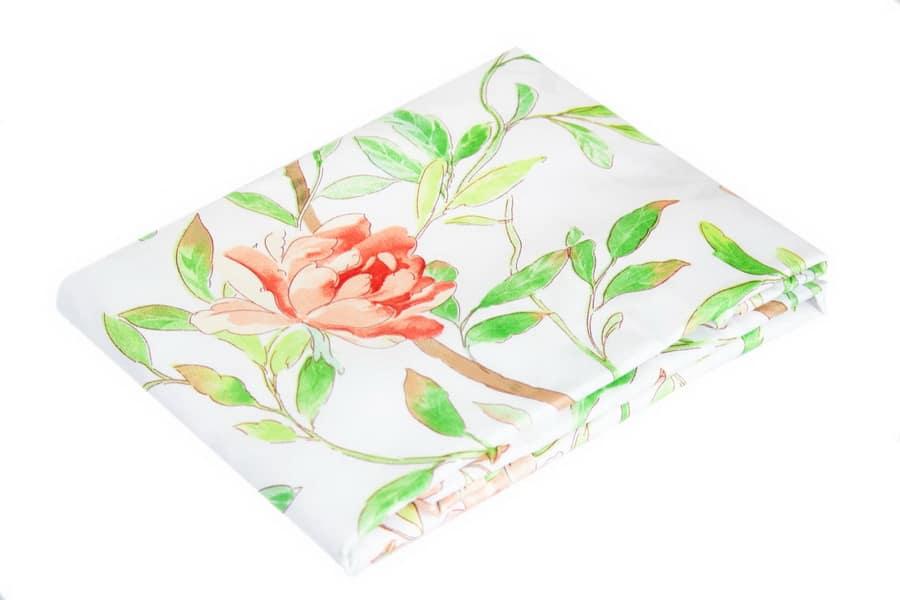 Bed Sheet Queen Size Summer Leaf & Flower - Balooworld