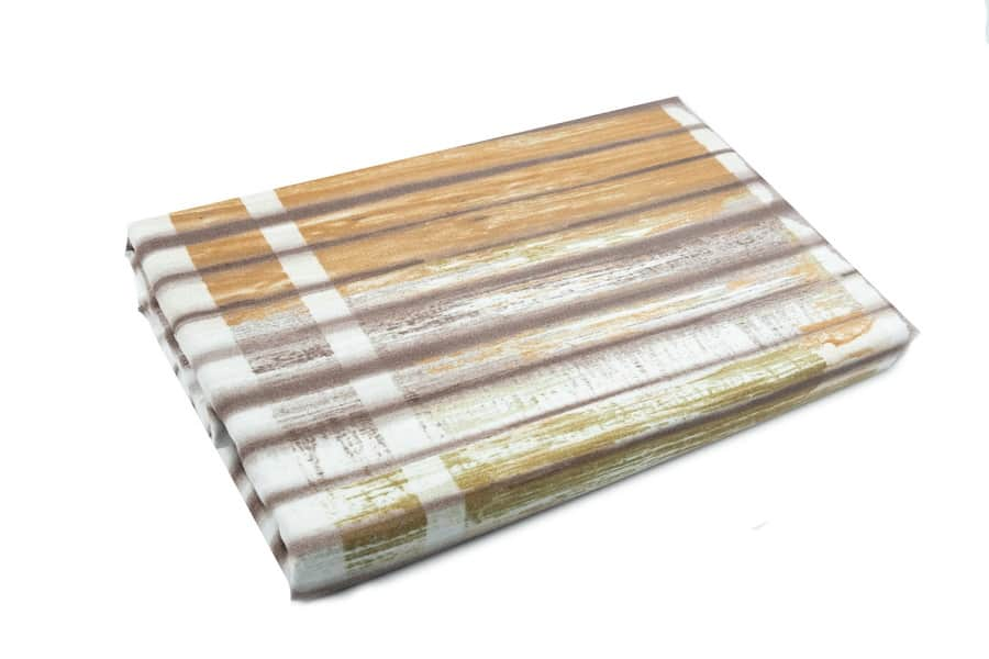 Bed Sheet Queen Size Vertical Lines And Blurry Stripes - Balooworld