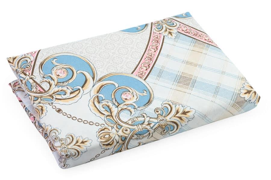 Bed Sheet Queen Size Circular Abstract Paisley Pattern - Balooworld