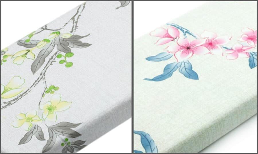 Bed Sheet Full Size Allover Floral Pattern combine - Balooworld