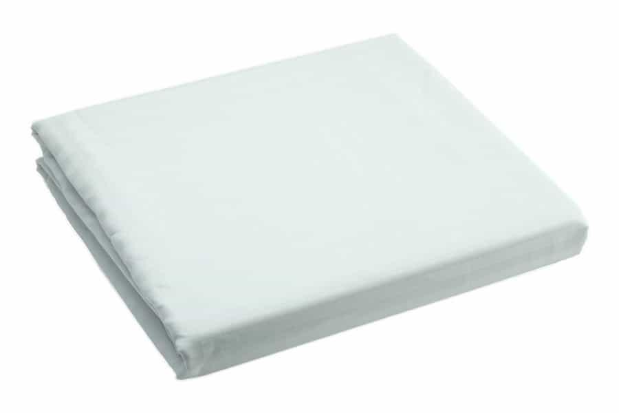 Bed sheet King Size White Silk Satin Stripe - Balooworld