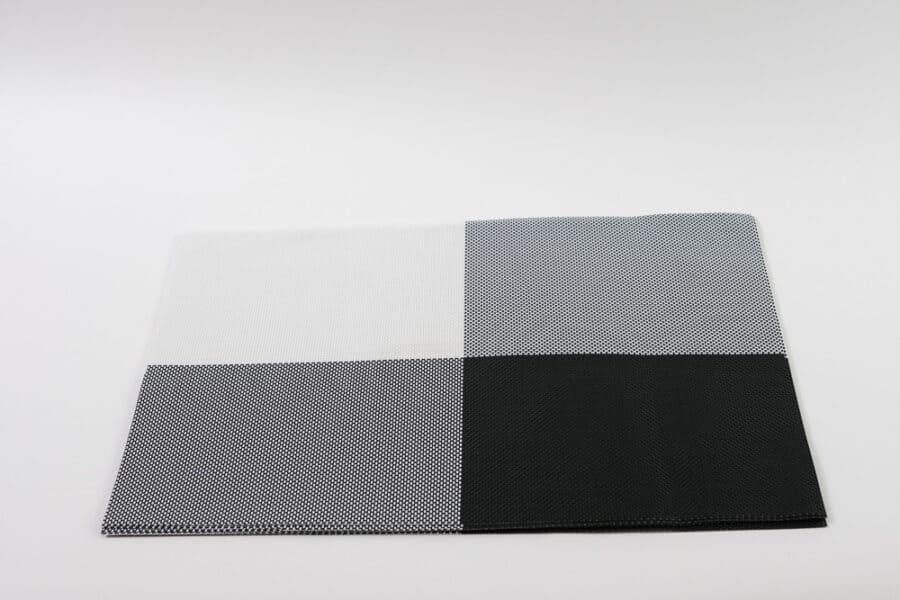 black white vinyl placemat single balooworld-tabletop-placemat