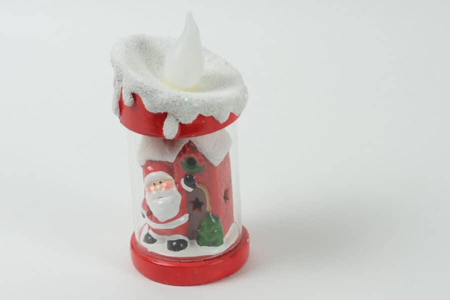 santa light candle balooworld-decoration